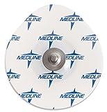 Medline MDSM611903 MedGel Stress / Diaphoretic Foam Electrode, White (Case of 3600)