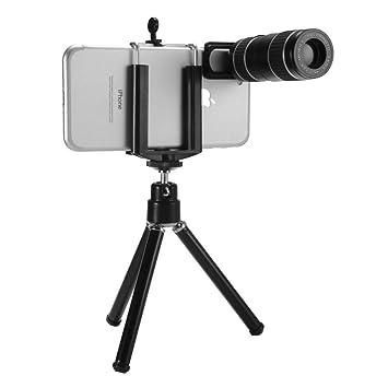Hansun Kit de Lente móviles Universal, Doble Zoom Ajustable12x ...