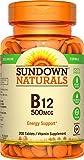 Sundown Naturals® Vitamin B-12 500 mcg, 200 Tablets For Sale