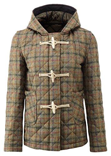 Womens Richmond Quilted Tweed Duffle Gun (Tweed Duffle)