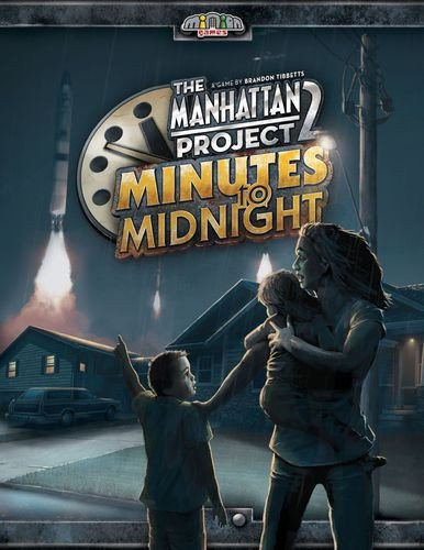 Minion Games MIGMM100 Manhattan Project 2: Minutes to Midnight (Stand Alone), Mehrfarbig Pegasus Spiele