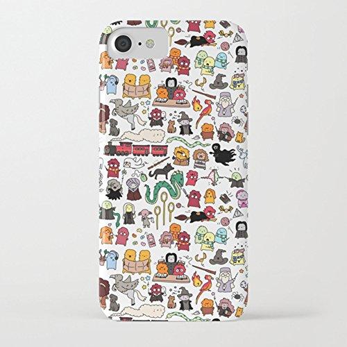 Funda iPhone 7 Funda iPhone 8 Premium TPU Impresión Concha Suave Ultra Slim / Resistente a los Arañazos Flexible Bumper Phone Case Cover [Ultra-delgado] Protectora Caja del Teléfono para Apple iPhone  Harry Potter