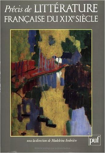 Download Précis de littérature française du XIXe  siècle pdf, epub ebook