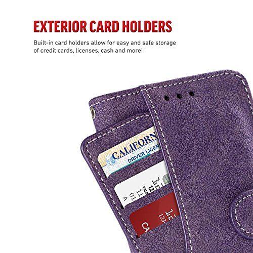 iPhone X Case - Zizo Slide Out Wallet Pouch [Thin Lightweight Wallet Case] w/ Credit Card and ID Holder [Heavy Duty]