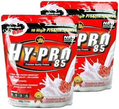 All Stars Hy-Pro 85 Protein Whey+ EGG (2 x 500g = 1000g), Schokolade-Nuss