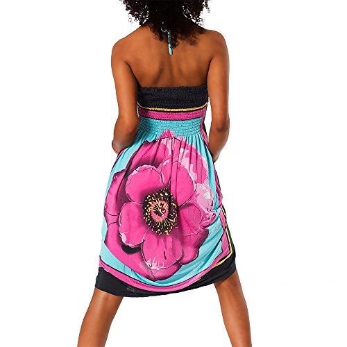 dell'abito Aztec H112 donna estivo colorato Bandeau vnPzA