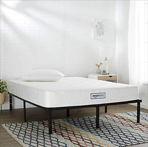 Amazonbasics Coil Mattress 8 Inch Twin Size Features High Density Foam Layer Reversible Easy Set Up Certipur Us Certified Comfortable And Supportive