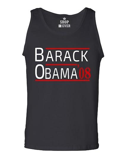 97ee988821703 Amazon.com  Shop4Ever Barack Obama  08 Men s Tank Top President Tank ...