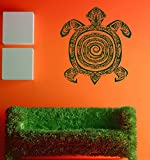 Indian Yoga Turtle Mantra Meditation Kids Room Children Stylish Wall Art Sticker Decal G7772