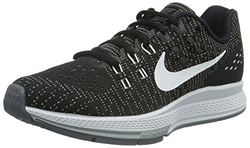 Negro W White Zoom Nike Grey de Running Mujer Dark Structure 19 Black para Cl Grey Zapatillas Air v77nBqdw