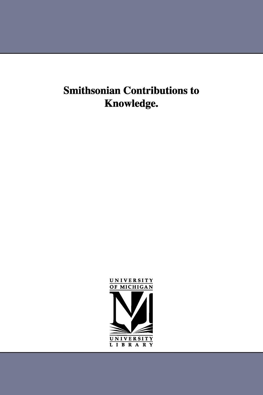 Smithsonian contributions to knowledge.: Vol. 9 pdf epub