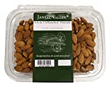 Jansal Valley Whole Unblanched Almonds, 1 Pound