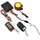 Motorcycle Security Kit, FICBOX Motorcycle Remote Control Wireless Intelligent Secuity Alarm System