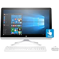 "HP 24-g239 Intel J3710 Quad-Core 8GB 1TB HDD 23.8"" Full HD Touchscreen AIO PC (Certified Refurbished)"