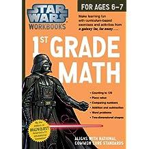 Star Wars Workbook: 1st Grade Math