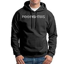Men's Foo Fighters Band 1 Platinum Logo Hoodie Sweatshirt