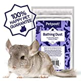 Petpost | Chinchilla Bath Dust for Small Animals