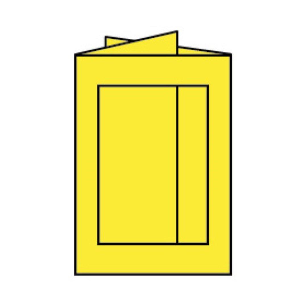 Rössler Papier - - Paperado-Karte Ft.B6 PP-eckig, Soleilgelb - Liefermenge  25 Stück B07CX7TVV2 | Reichlich Und Pünktliche Lieferung