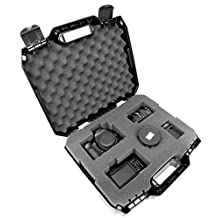 Tough-XL Hard-Body Travel and Storage Case Camera, Gear, Equipment and Lenses - Protects Nikon Digital SLR DSLR D3300/D3200/D750/D7100/D810/D3100/D5500/D7200/D7000 and More
