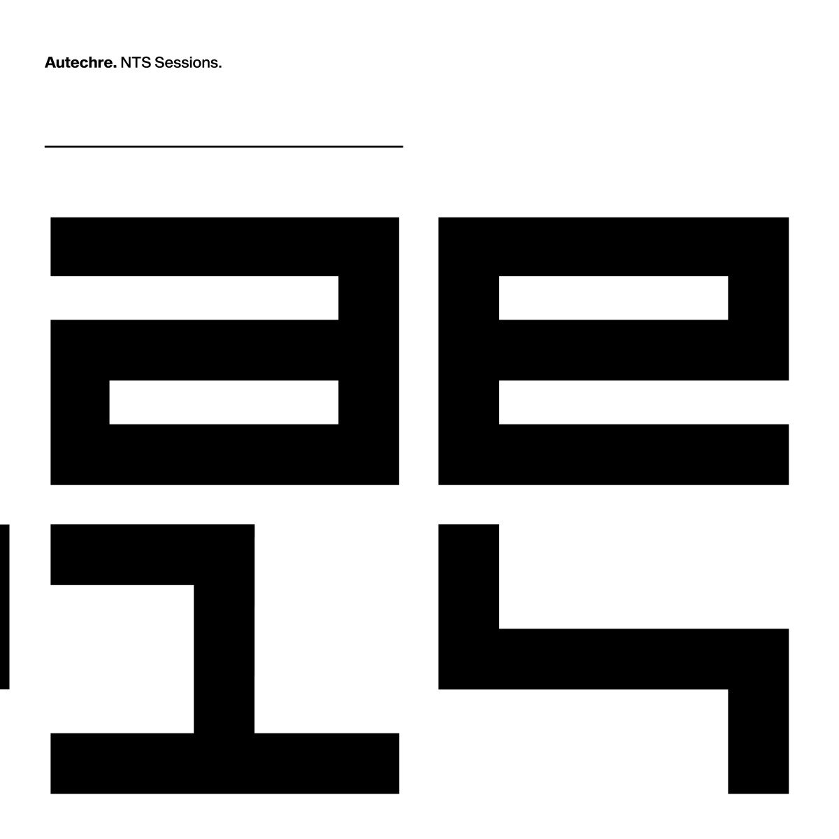 CD : Autechre - Nts Sessions (8PC)