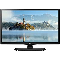 LG 24LJ4540 24 Class 23.6 Diag HD 720p LED TV (2017 Model) w/ Sound Bar Bundle Includes, Solo X3 Bluetooth Home Theater Sound Bar, 6ft High Speed HDMI Cable and LED TV Screen Cleaner