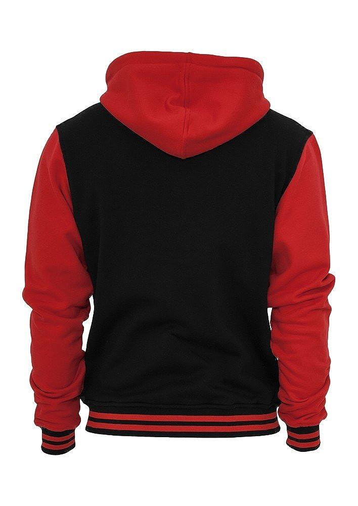 TB287 2-tone Zip Zip Zip Hoody Jacke Sweat Sweatshirt Kapuze B00OXZ7LD2 Kapuzenpullover eine große Vielfalt f0b4c4