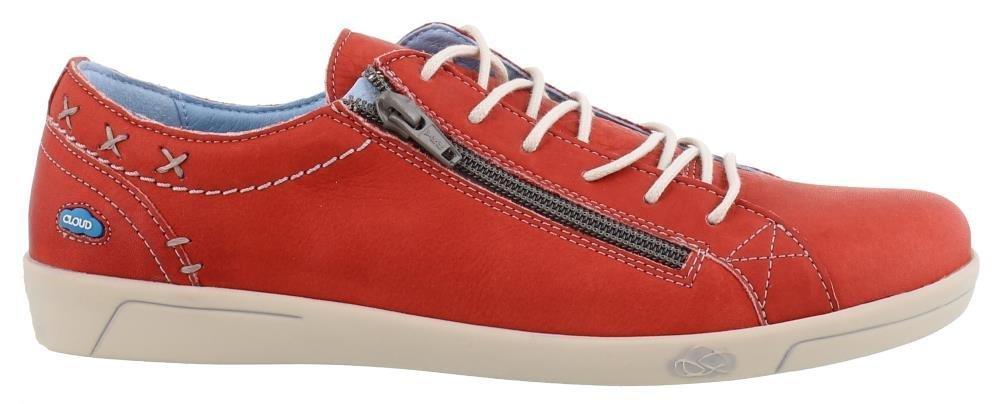 Cloud Footwear Women's Aika Fashion Sneaker B0764HBKMM 41 M EU|Red