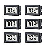 TAIWEI 6 Pack Mini Small Digital Electronic