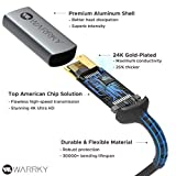 4K Mini DisplayPort to HDMI Adapter, WARRKY