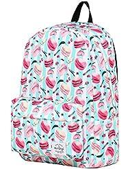 SIMPLAY Classic School Backpack Bookbag   17x12.5x5   Assorted Colors