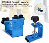 Pocket Hole Jig Kit Dowel Drill Joinery Screw Kit