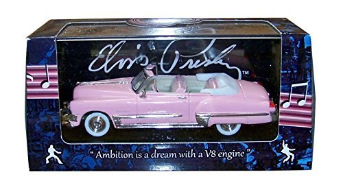 1949 Elvis Presley Pink Cadillac Congreenible 1 43 by Motorcity Classics 48888EP by Motorcity Classics