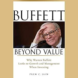 Buffett Beyond Value Audiobook