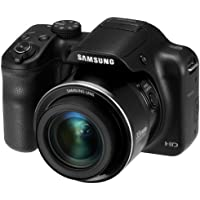 Samsung WB1100F 16.2MP CCD Smart WiFi & NFC Digital Camera with 35x Optical Zoom, 3.0 LCD and 720p HD Video (Black)
