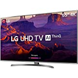 "Smart TV 4K 65"", Painel IPS 4K UHD, ThinQ AI, webOS 4.0, Design Ultra Slim, DTS Virtual X, Sound Sync, HDMI USB, LG, 65UK6530PSF"