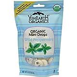 Yummy Earth Organic Wild Peppermint Candy Drops - 3.3 oz
