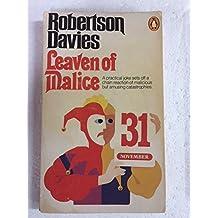 Leaven of Malice (Salterton Trilogy) by Robertson Davies (1980-07-31)