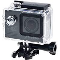 ABLEGRID SJ5000 WIFI Novatek 96655 12MP 2.0 LCD 1080P 170 Degree Wide Angle Sports DV Waterproof Action Camera Camcorder Outdoor for Bicycle Motorcycle Diving Swimming Black