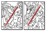 Baby Dragons: An Adult Coloring Book with