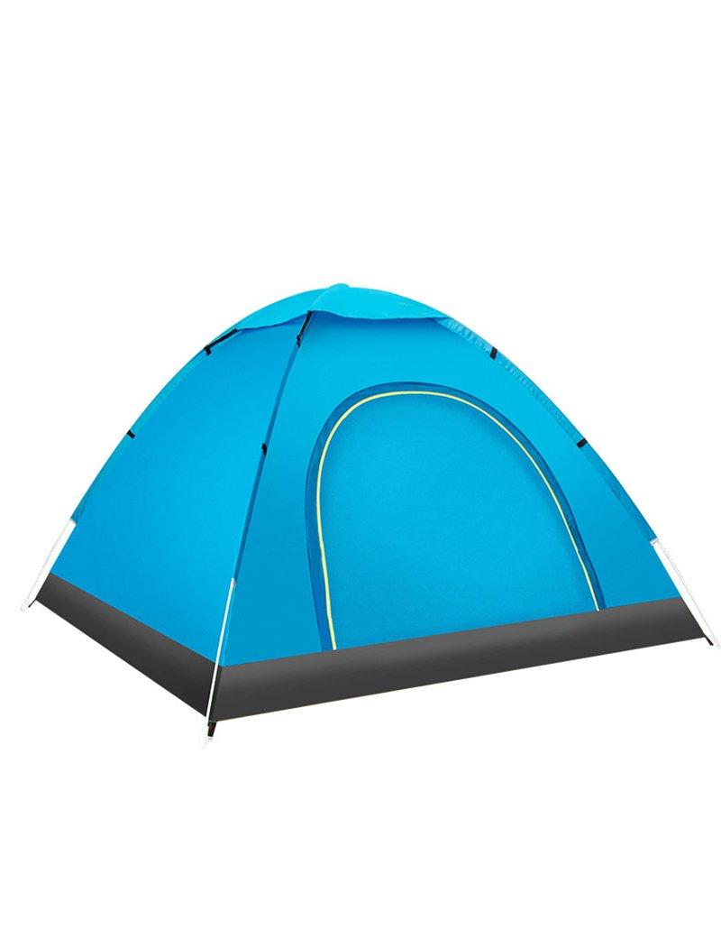 Hochwertiges Zelt - Feld 3 Personen -4 Personen Zelt Komplett automatisch Freie Bauweise Licht Regenschutz Zelt 200  200  130cm --Outdoor Reisebequemlichkeit Zelt