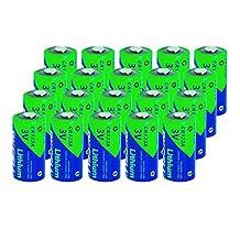CR123A DL123A 1500mAh 3V Photo Lithium Battery (20pc)