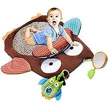 "SANMU Cute Cartoon Owl Baby Kids Infant Tummy Time Crawling Play Mat 30"""