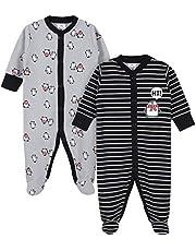 GERBER Baby Boys 2-Pack Thermal Sleep 'N Play