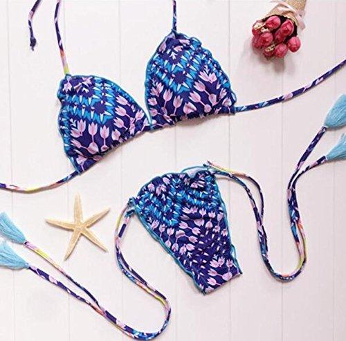 SZH Traje de baño Bikini Set Trajes de baño de dos piezas atléticos de las mujeres