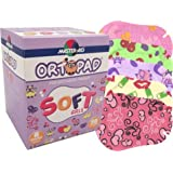 Ortopad Soft Girls Eye Patches - Patterns with Textured Accents, Regular Size (50 Per Box)
