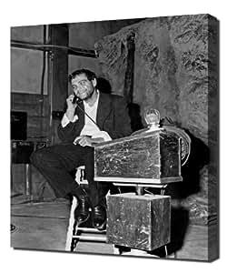 """pingoo impresiones Welles, Orson (Macbeth) _ 09""""arte impresión, lona, multicolor, 60x 90x 5cm"""