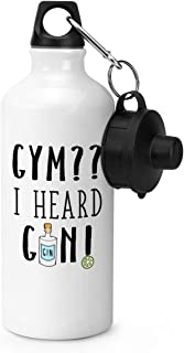 Gym I Heard Gin Gourde De Sport