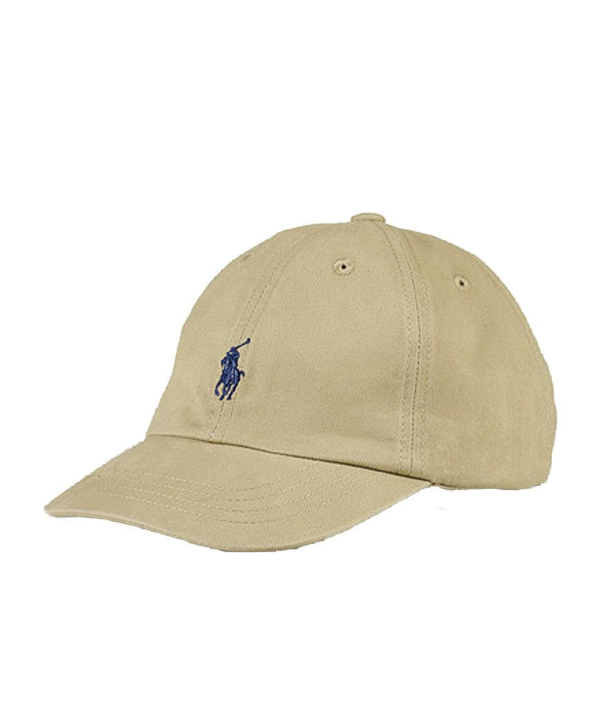 Polo Ralph Lauren Childrenswear Boys' 8-20 Big Pony Hat (2T-4T, Kahki)