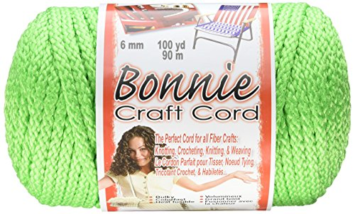 (Pepperell Bonnie Macrame Craft Cord, 6mm 100-Yard, Parrot)