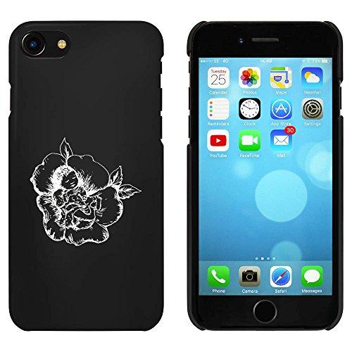 Noir 'Bébé en Fleur' étui / housse pour iPhone 7 (MC00062053)